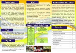 brosur apoteker angk IV Belakang